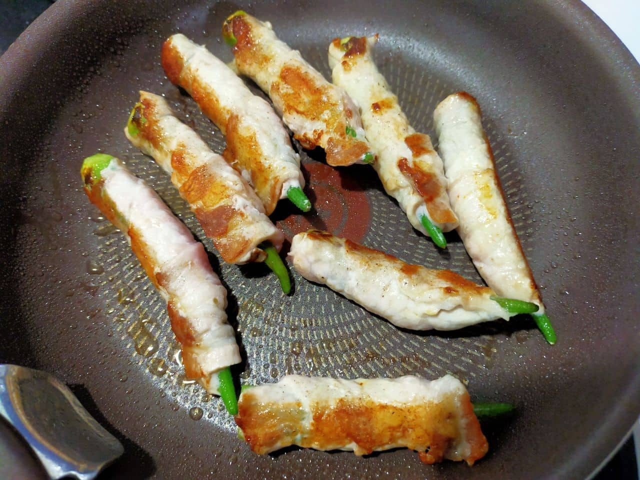 「豚肉オクラ巻き」レシピ