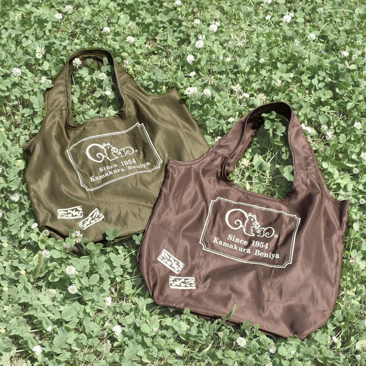 "Kamakura Beniya ""Kurumiko"" design eco bag"