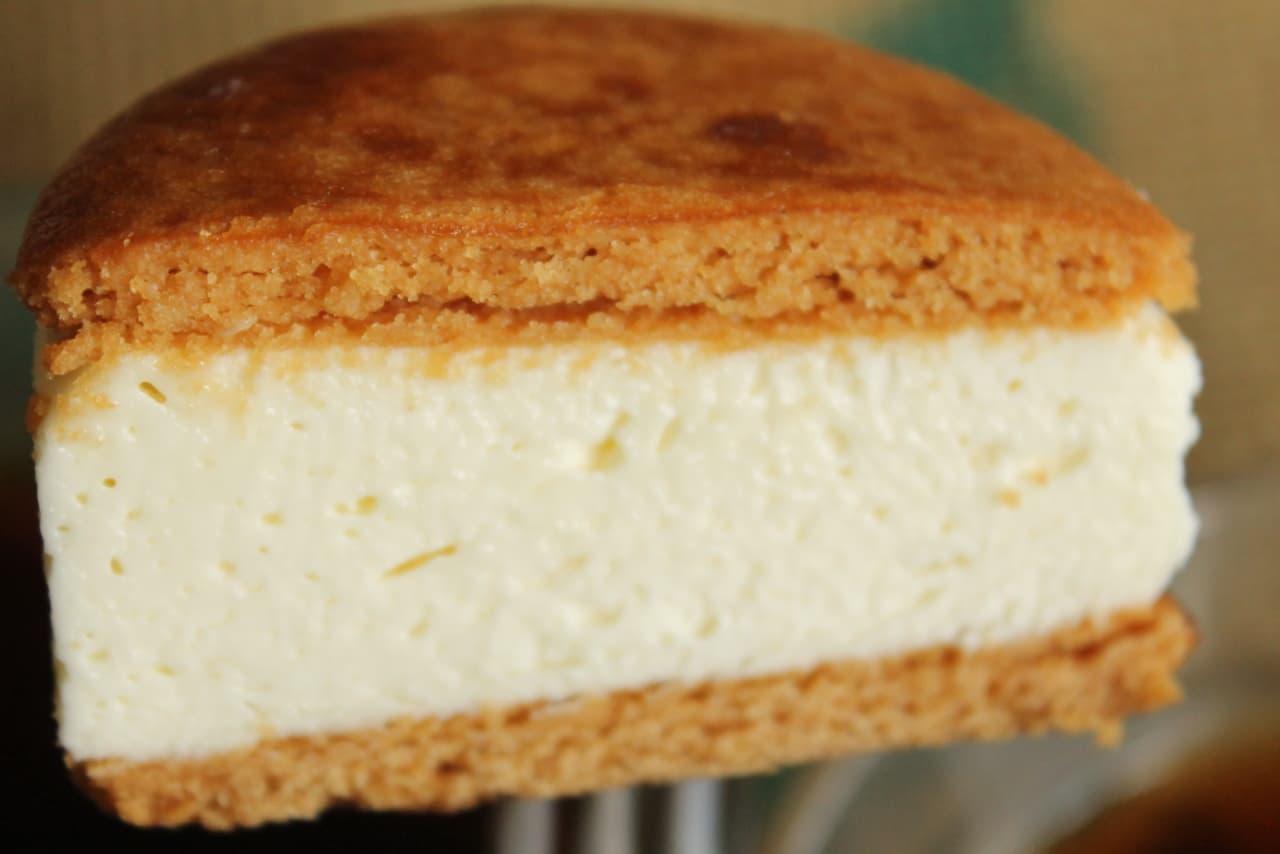 ファミマ「バタービスケットサンド チーズ」
