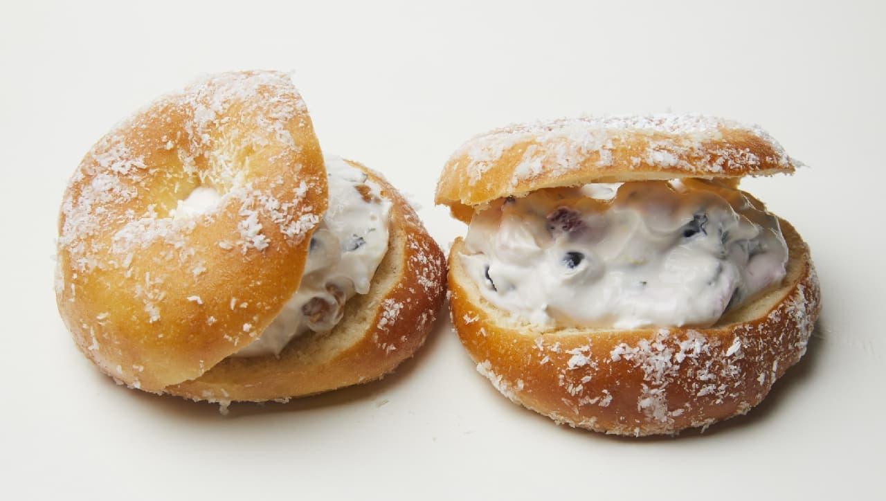 ディーン&デルーカ「ドーナツサンド ベリーベリークリームチーズ」