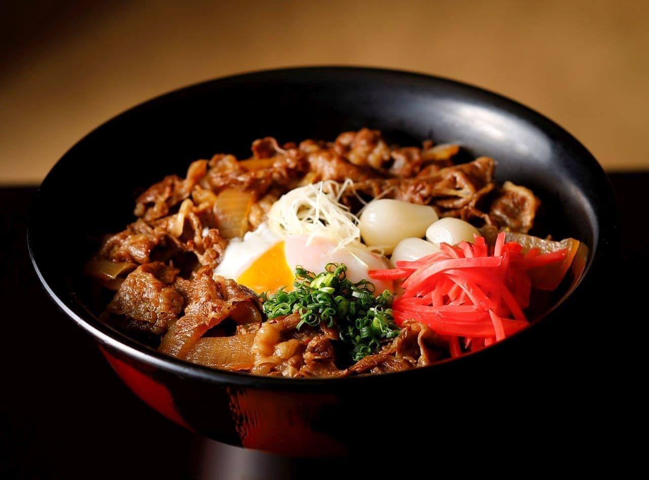 ホテルニューオータニ「尾崎牛丼」