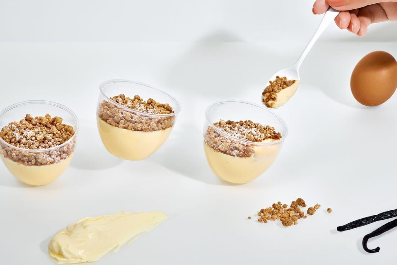 チーズころん by BAKE CHEESE TART「ころんとチーズプリン」