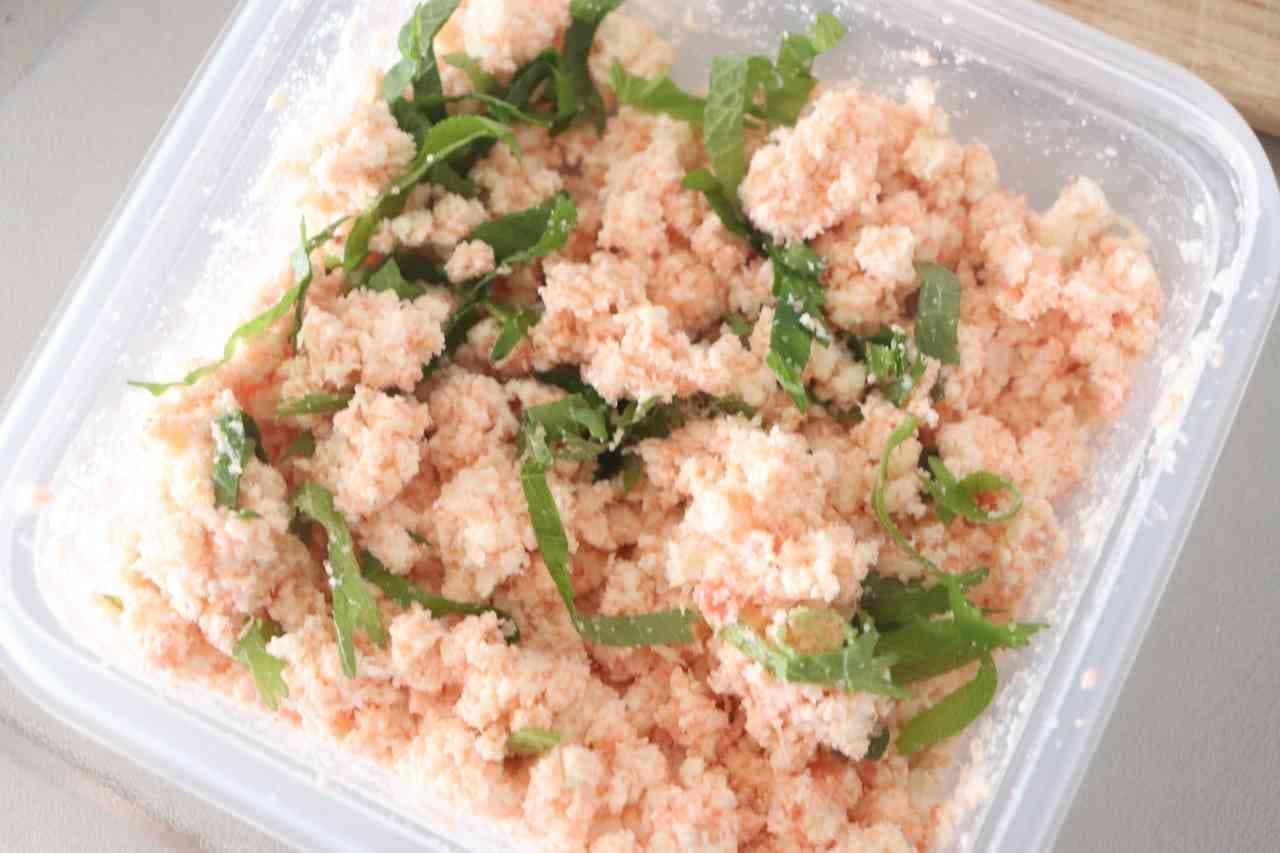 しっとり「おから明太サラダ」レシピ