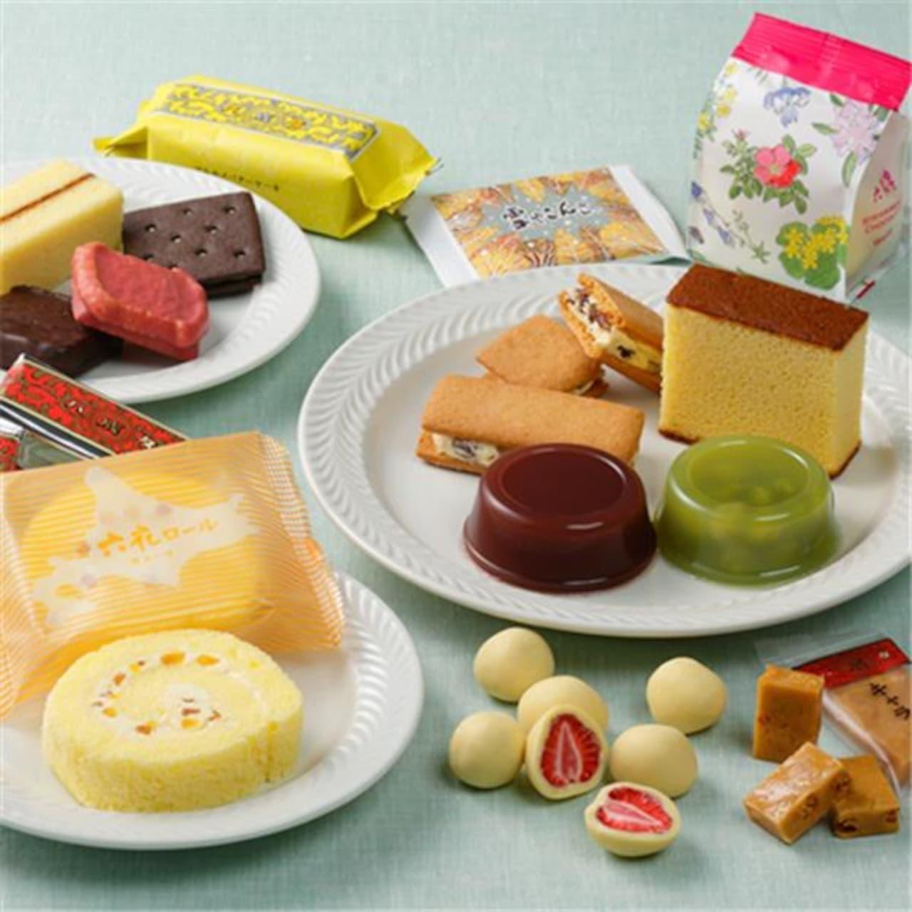 六花亭お菓子セット「7月通販おやつ屋さん」