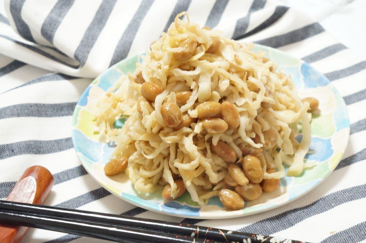 茨城「そぼろ納豆」レシピ