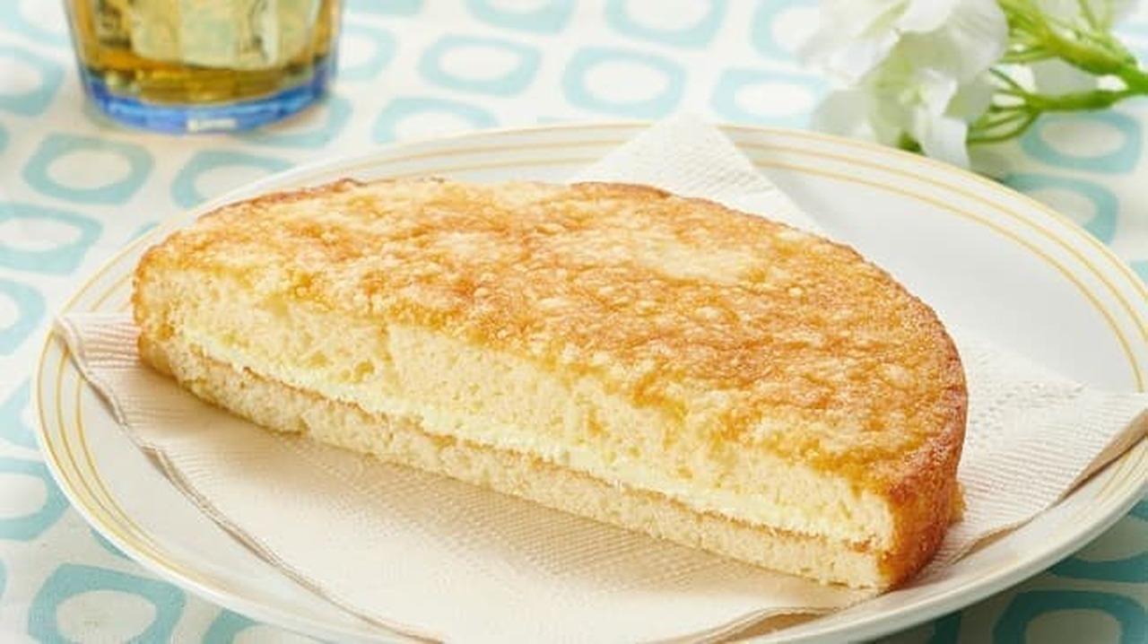 ローソンストア100「VL焼きチーズケーキ」