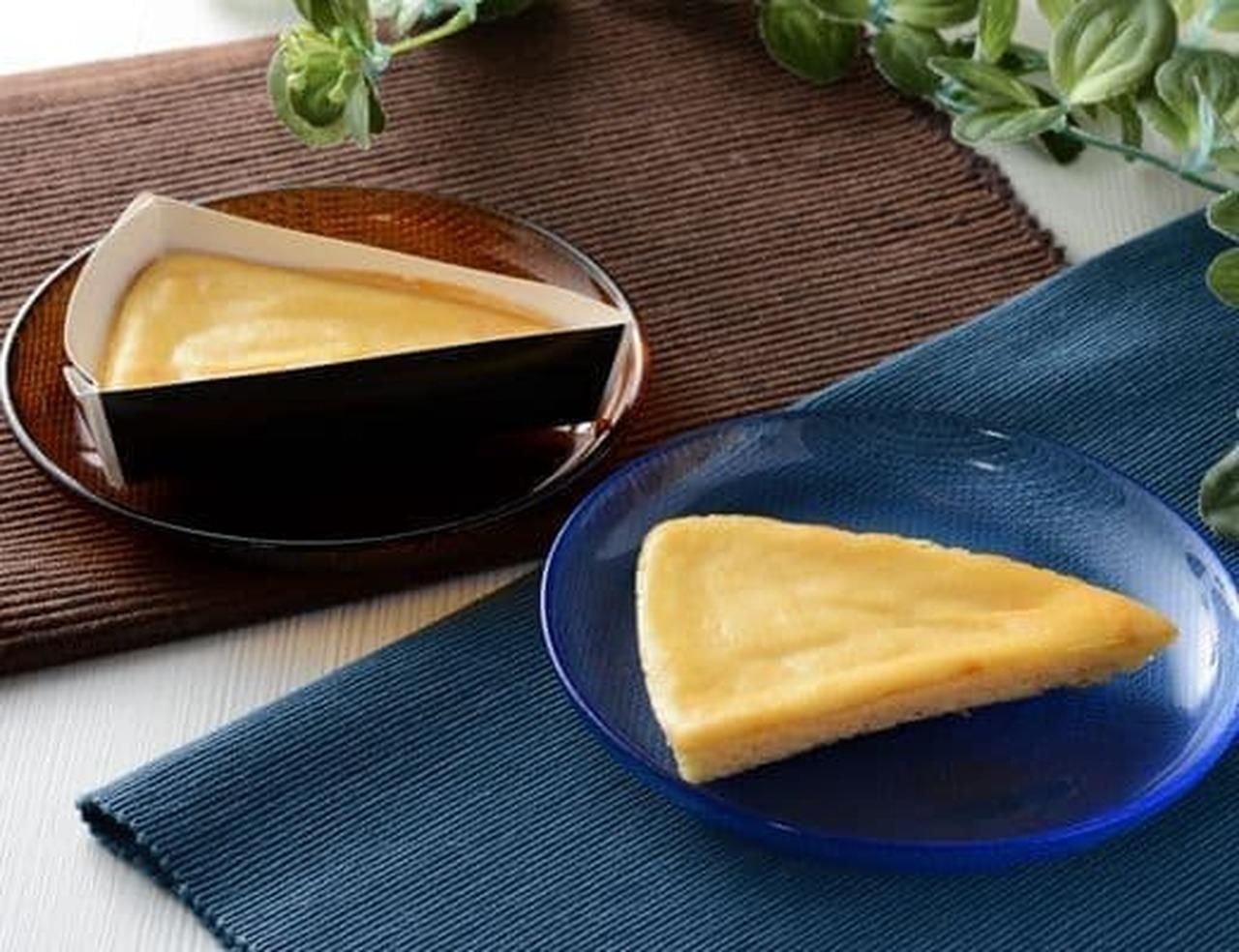 ローソン「NL なめらかベイクドチーズケーキ」