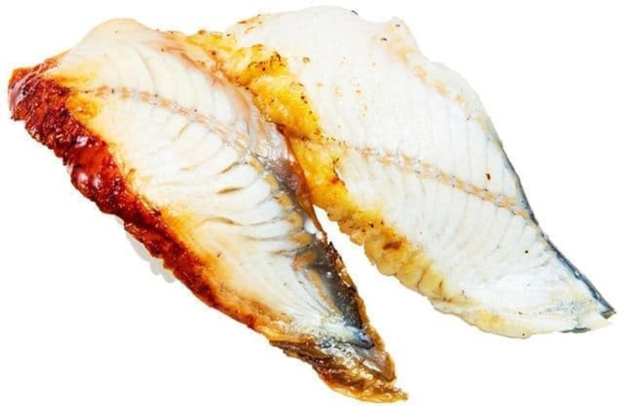かっぱ寿司「炙りうなぎの豪華食べ比べ(蒲焼き・白焼き)」