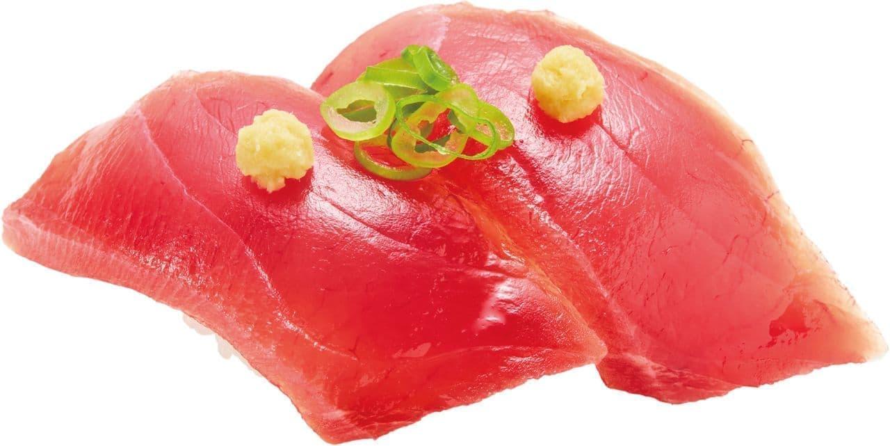 かっぱ寿司「焼津港水揚げ かつお」