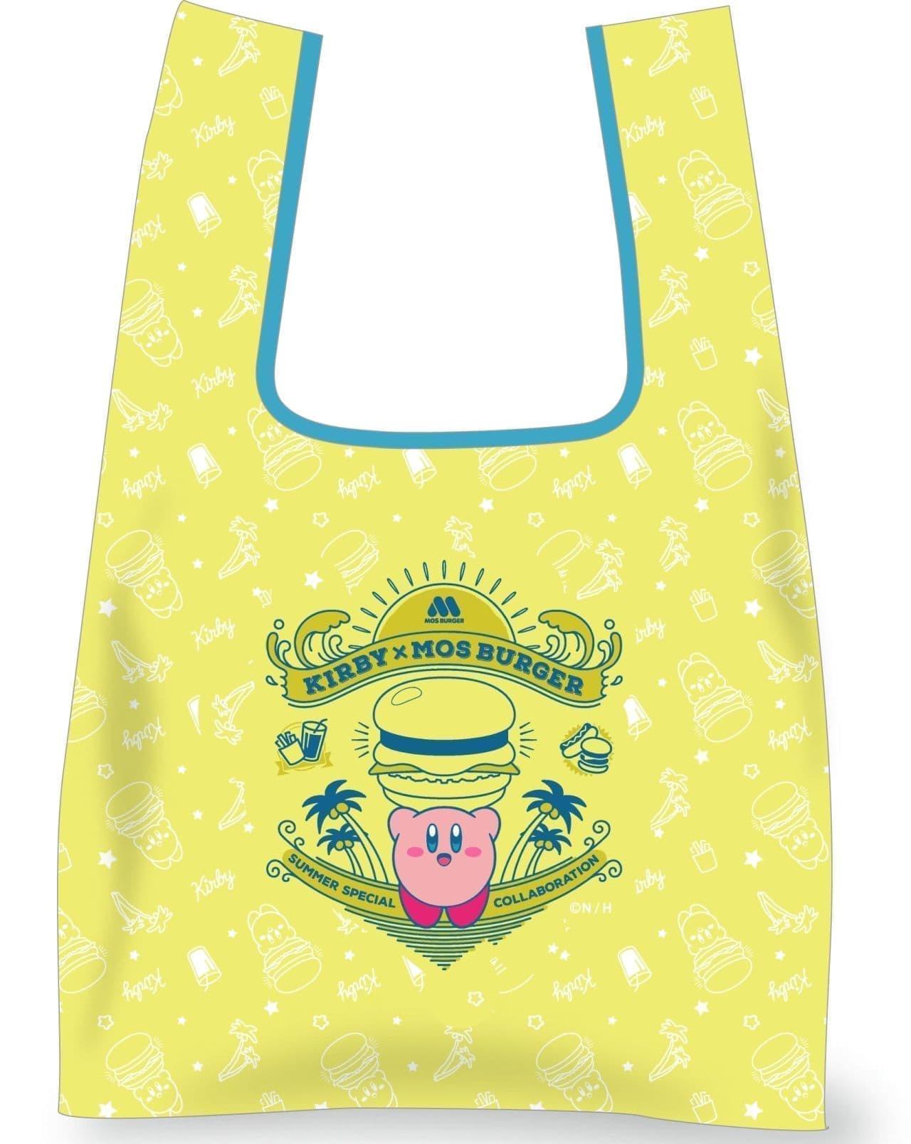 モス×カービィ サマーラッキーバッグのマルシェエコバッグ