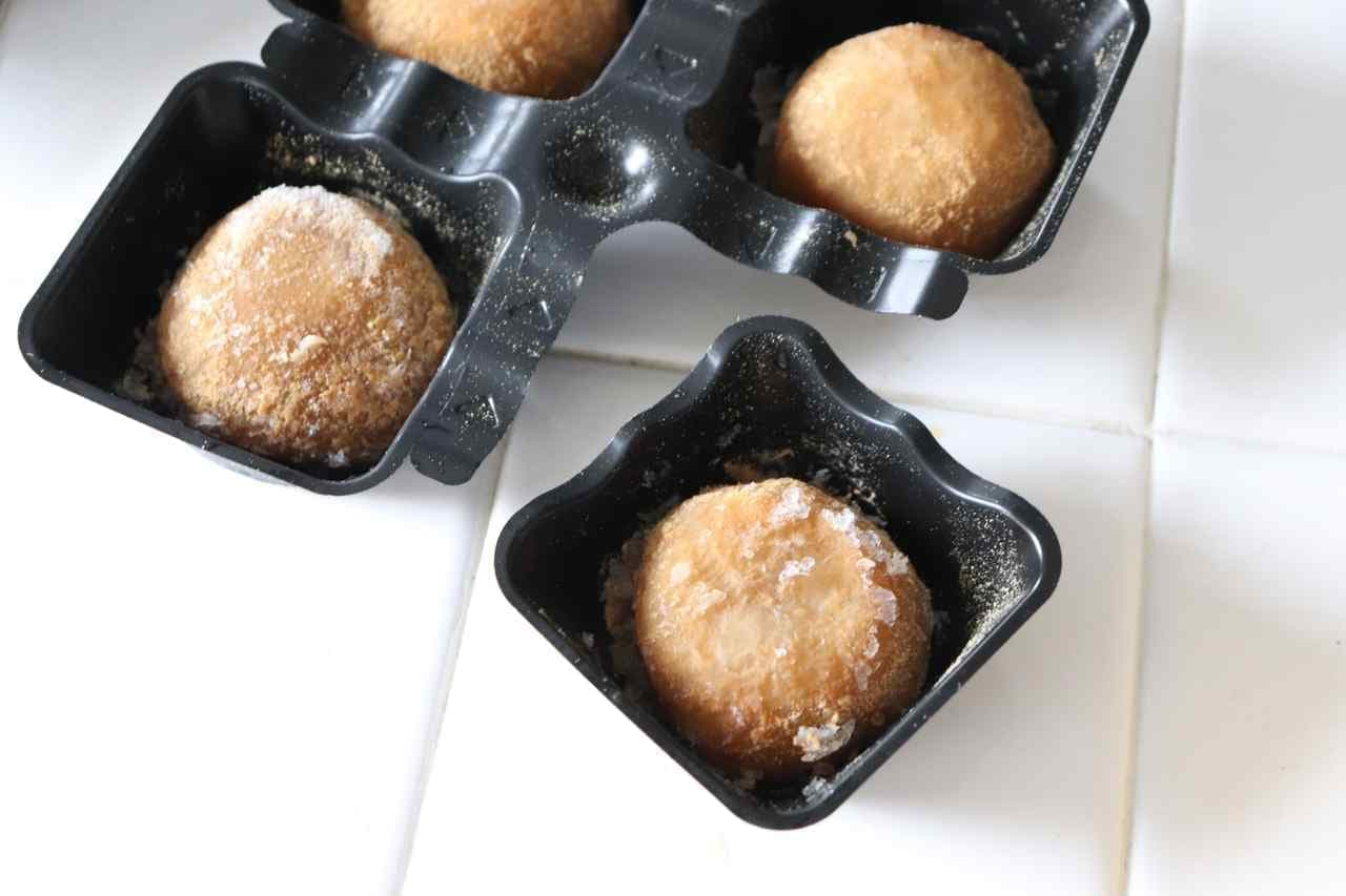 井村屋の冷凍和菓子「あん入黒糖わらび餅」「きなこおはぎ」
