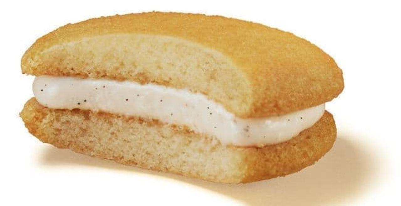 ロッテ「ゼロ シュガーフリーケーキ<発酵バター×バニラ>」