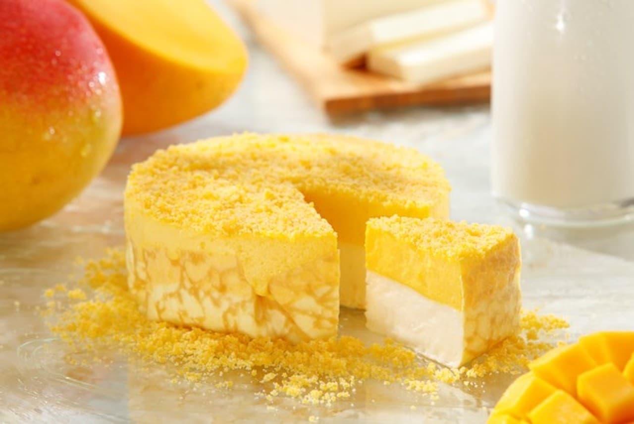 東京ミルクチーズ工場「ミルクチーズケーキ マンゴー」季節限定