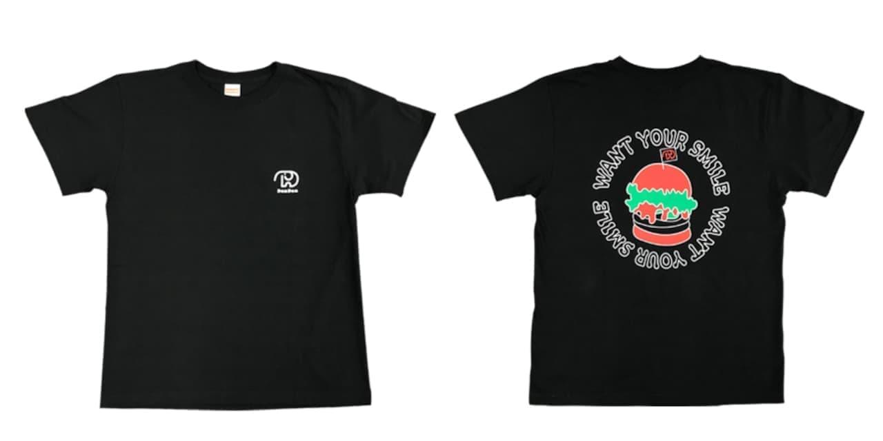 ドムドムハンバーガー「DOMDOMバケットハット」「DOMDOMロゴTシャツ」「DOMDOMバーガーイラストTシャツ」登場