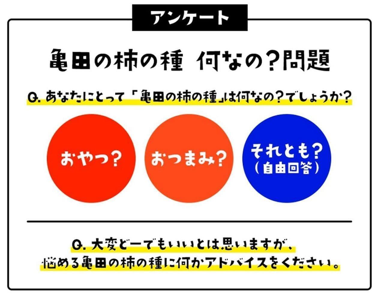 「亀田の柿の種 何なの?問題」キャンペーン