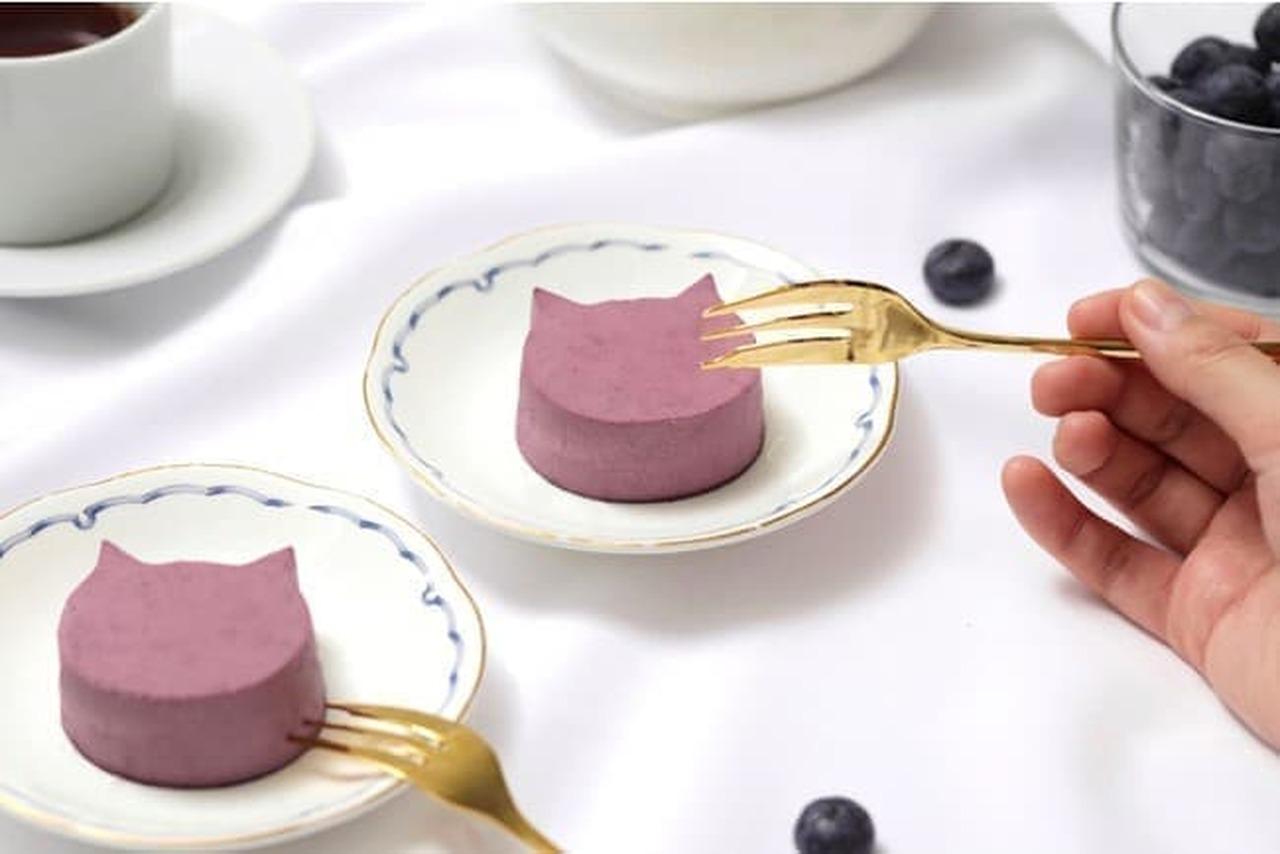 ねこねこチーズケーキ「にゃんチー ブルーベリー」