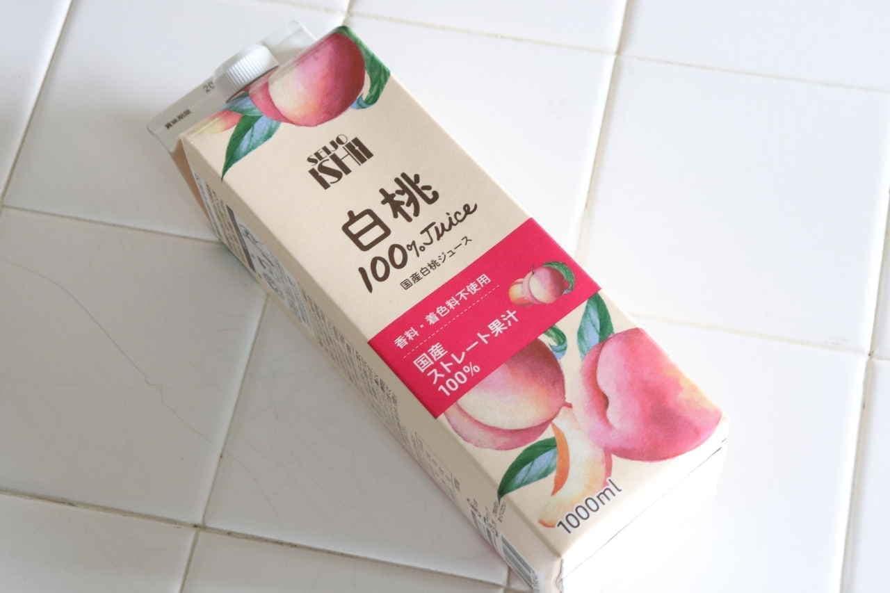 成城石井「国産白桃ジュース」