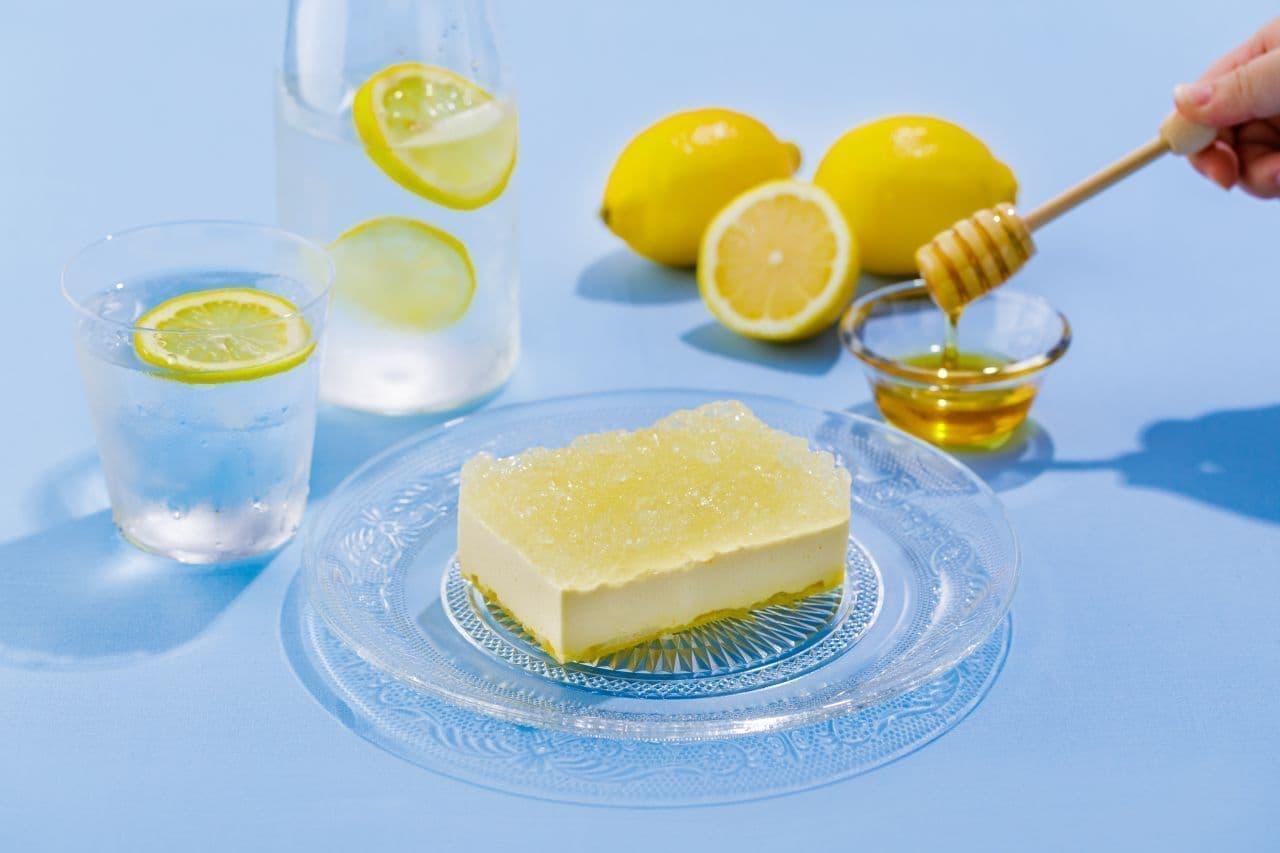 トップス「はちみつレモンチーズケーキ」