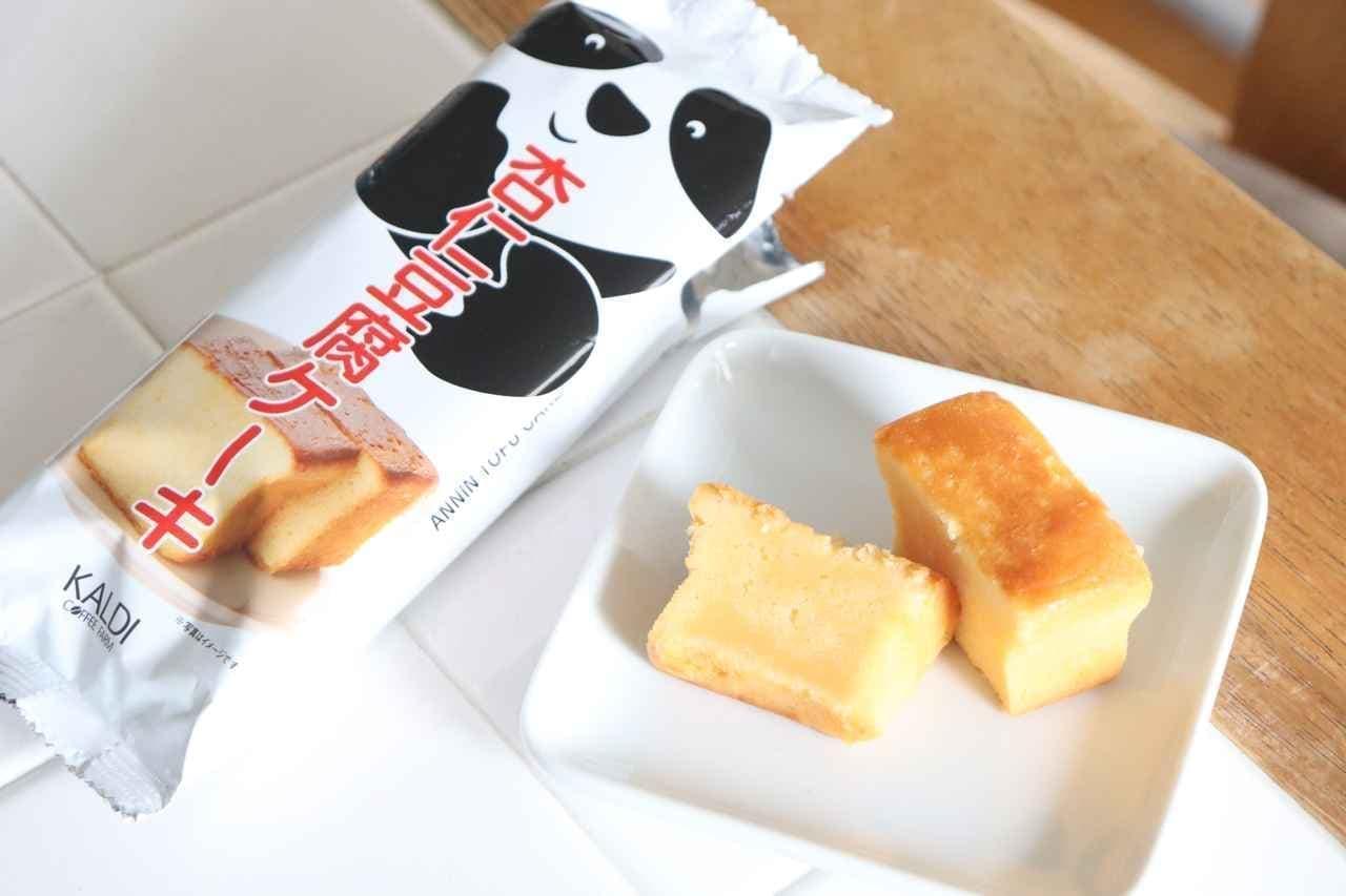 カルディ「杏仁豆腐ケーキ」