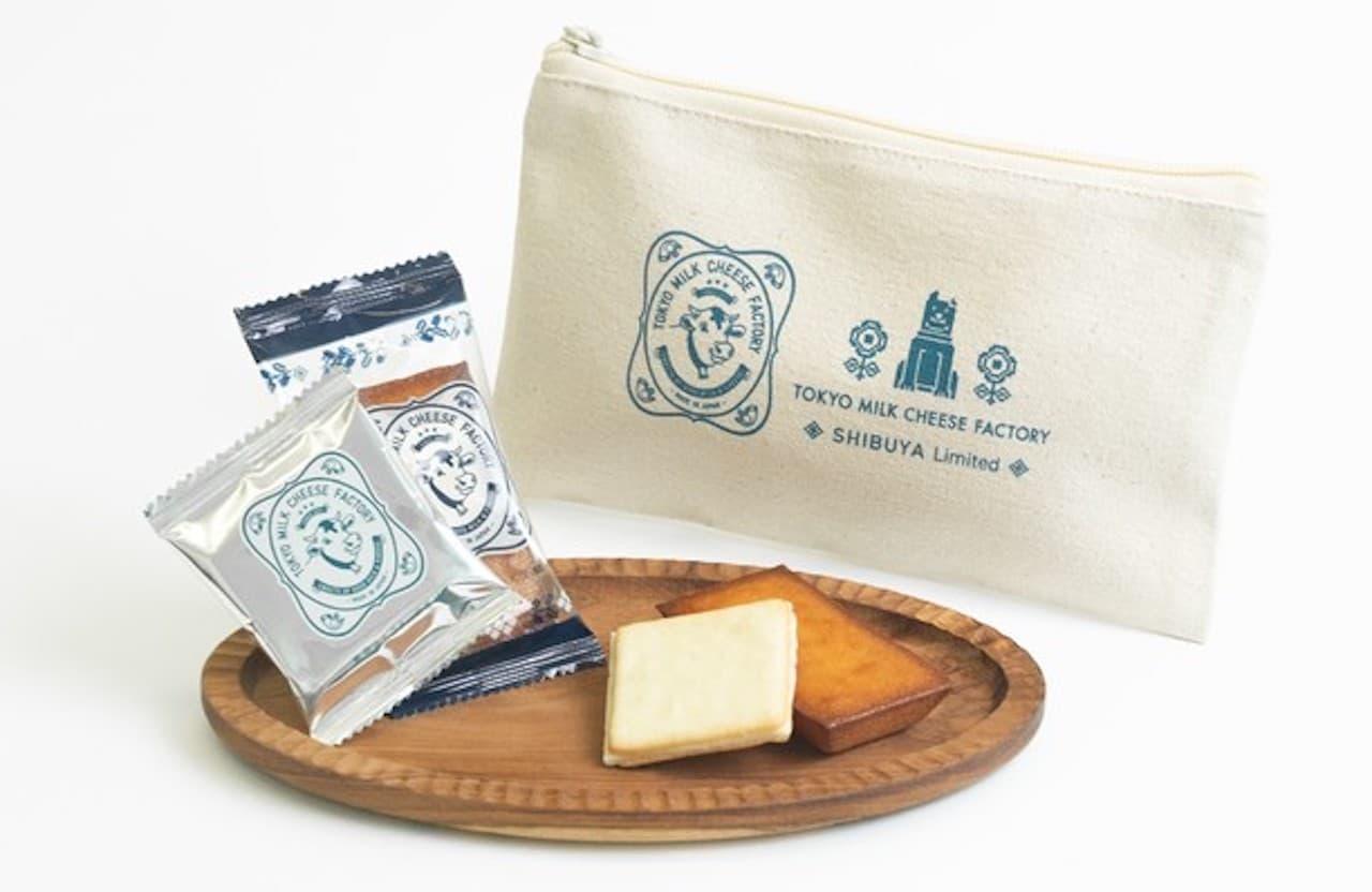 「東京ミルクチーズ工場 限定セット」渋谷 東急フードショー店限定ポーチ付き