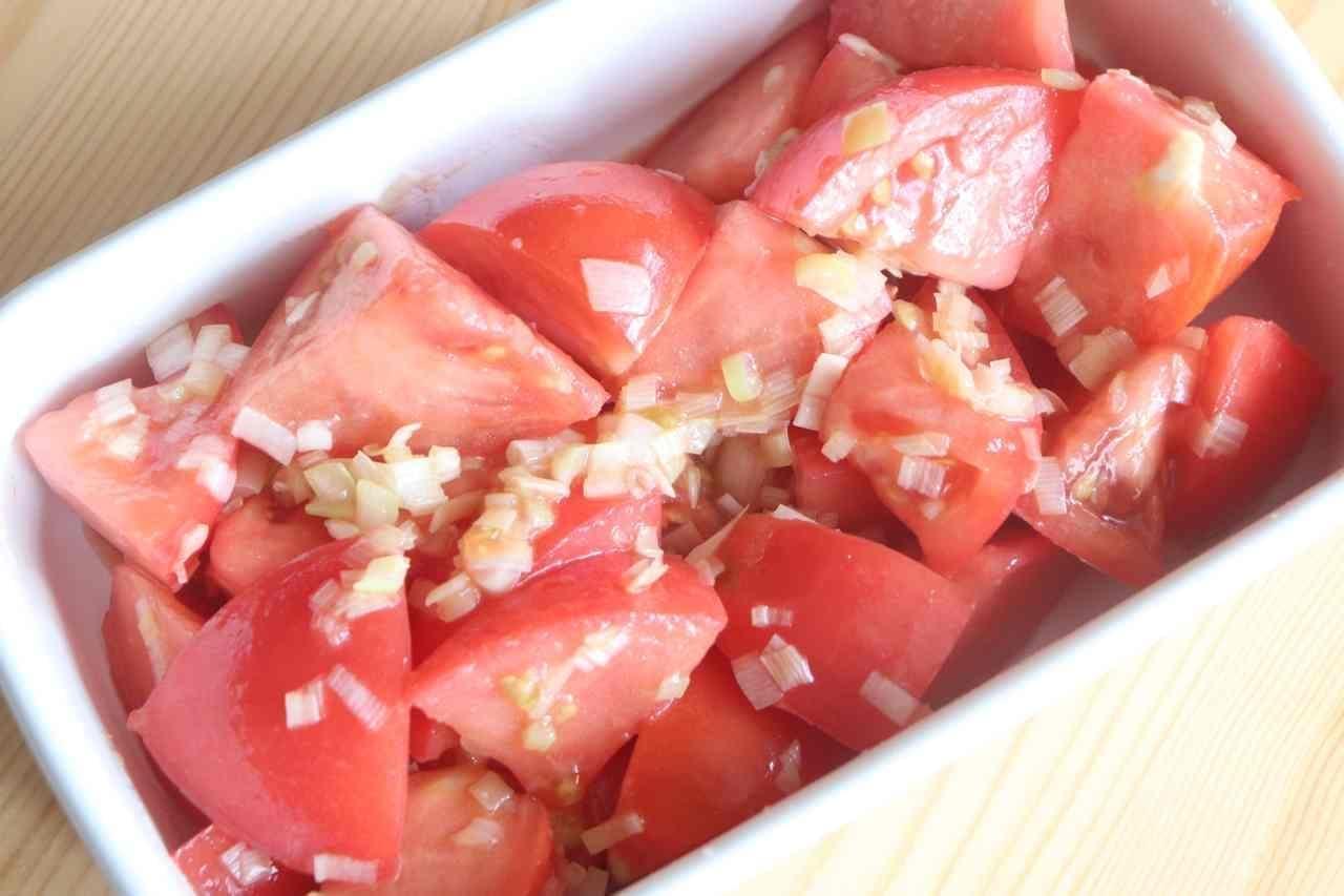 「トマト長ねぎナムル」のレシピ