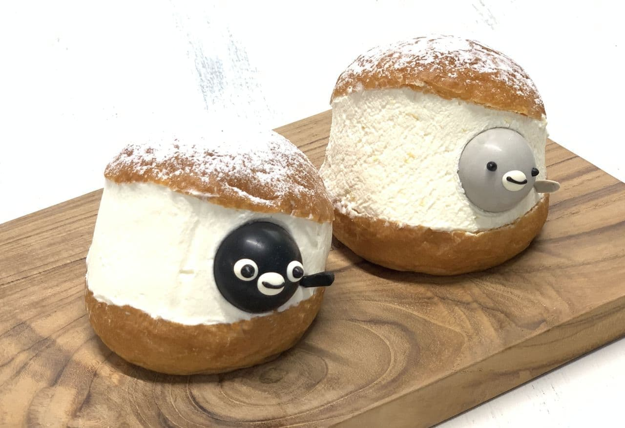 LUMINE 池袋「Suicaのペンギン マリトッツォセット」