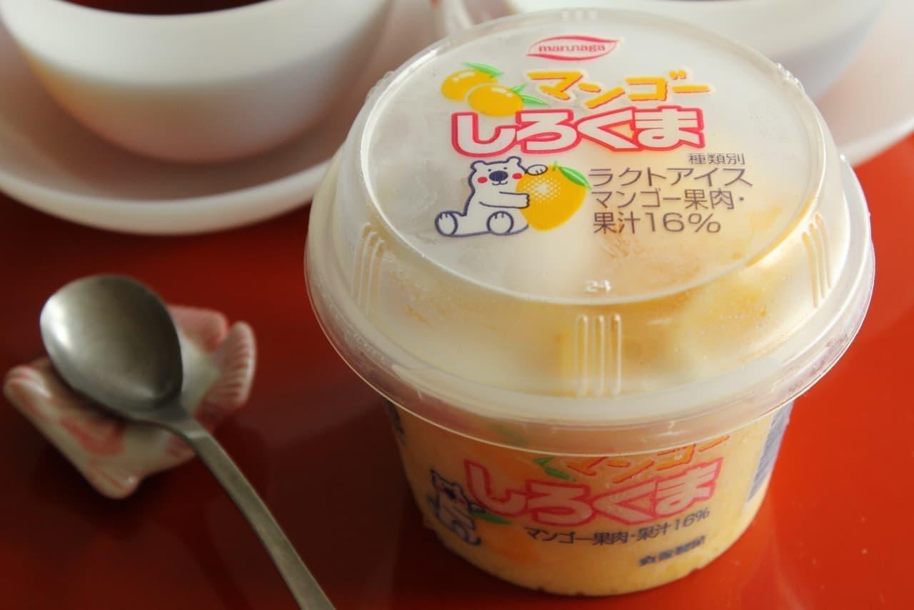 ファミマ「丸永製菓 マンゴーしろくま」