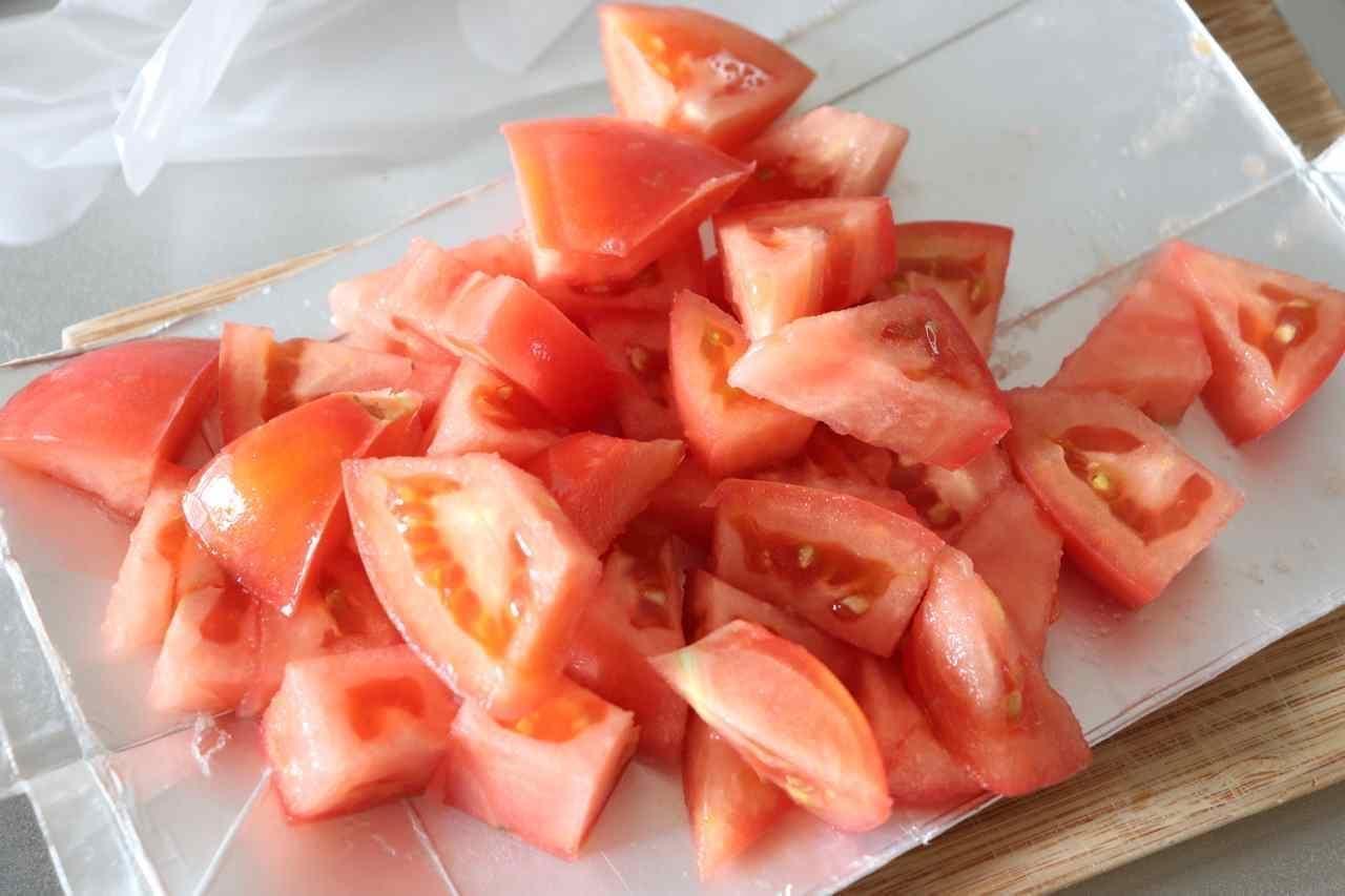 まぐろトマト和え