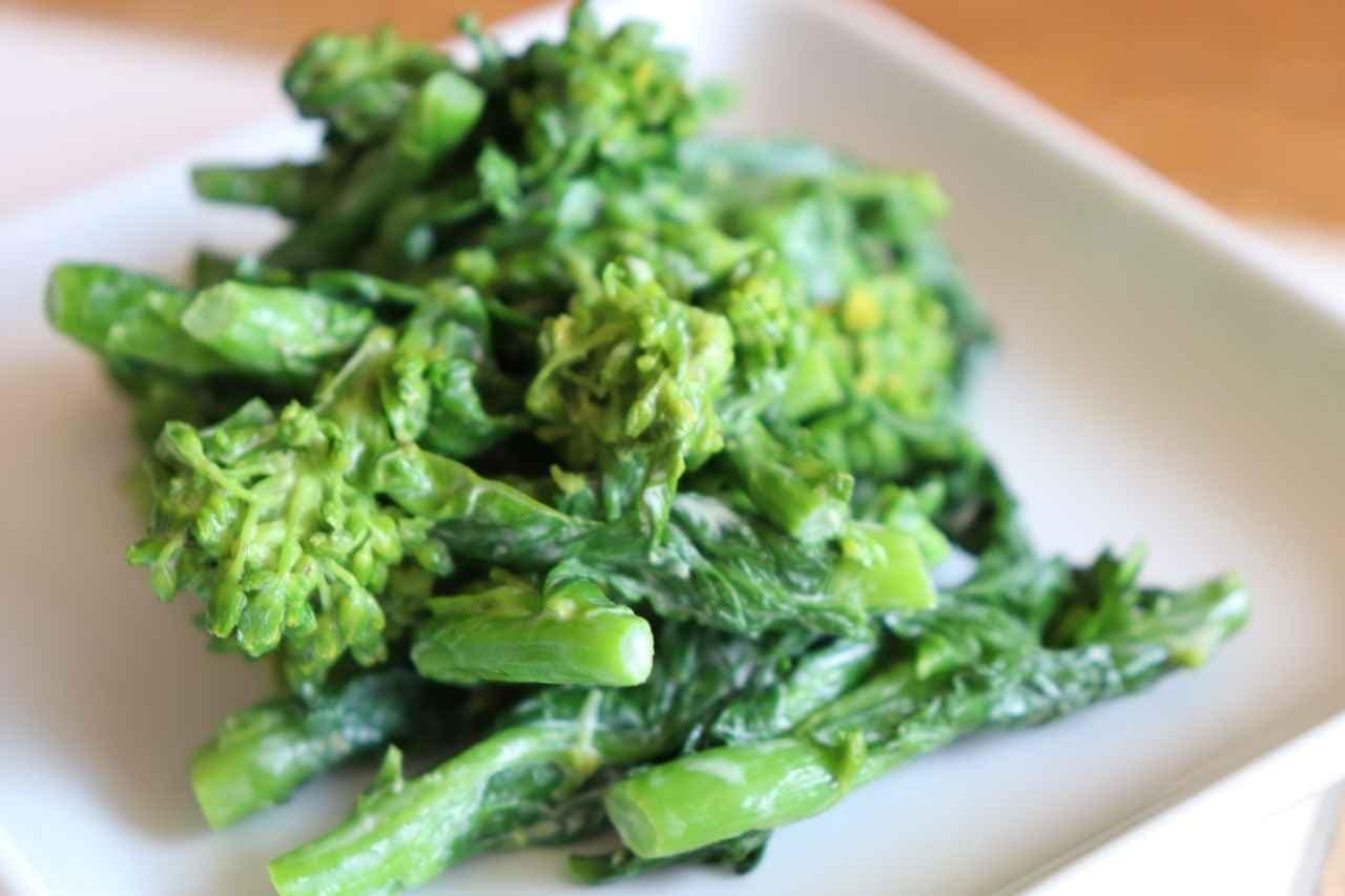 「菜の花わさびマヨ」レシピ