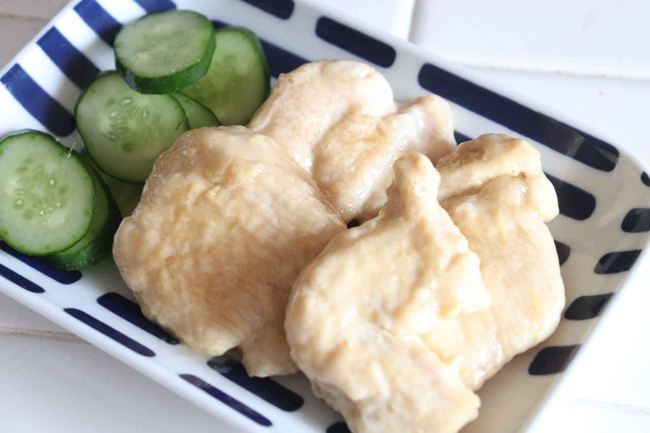 「鶏むね肉のわさびマヨ」のレシピ