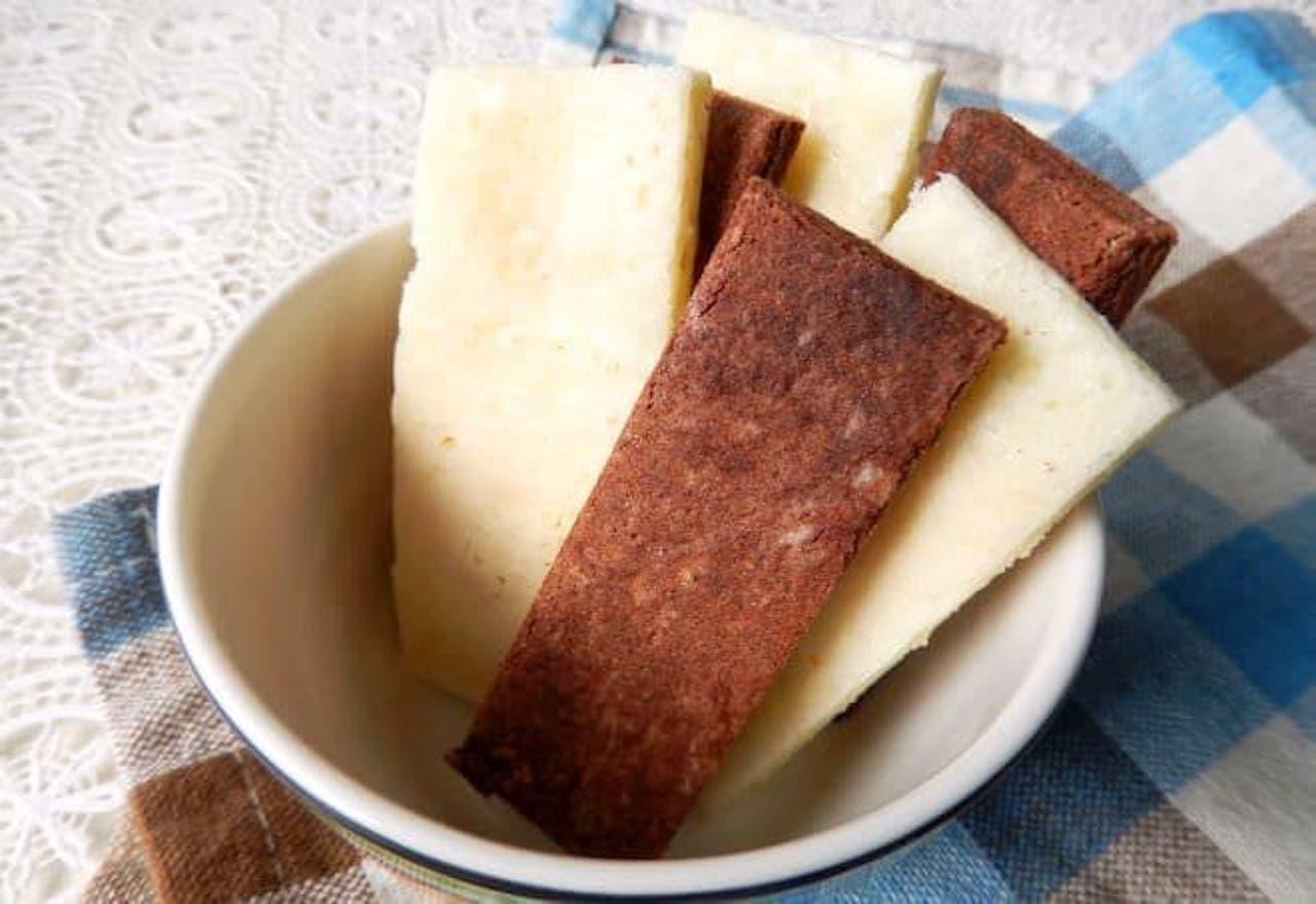 「ミルクケーキ」のレシピ