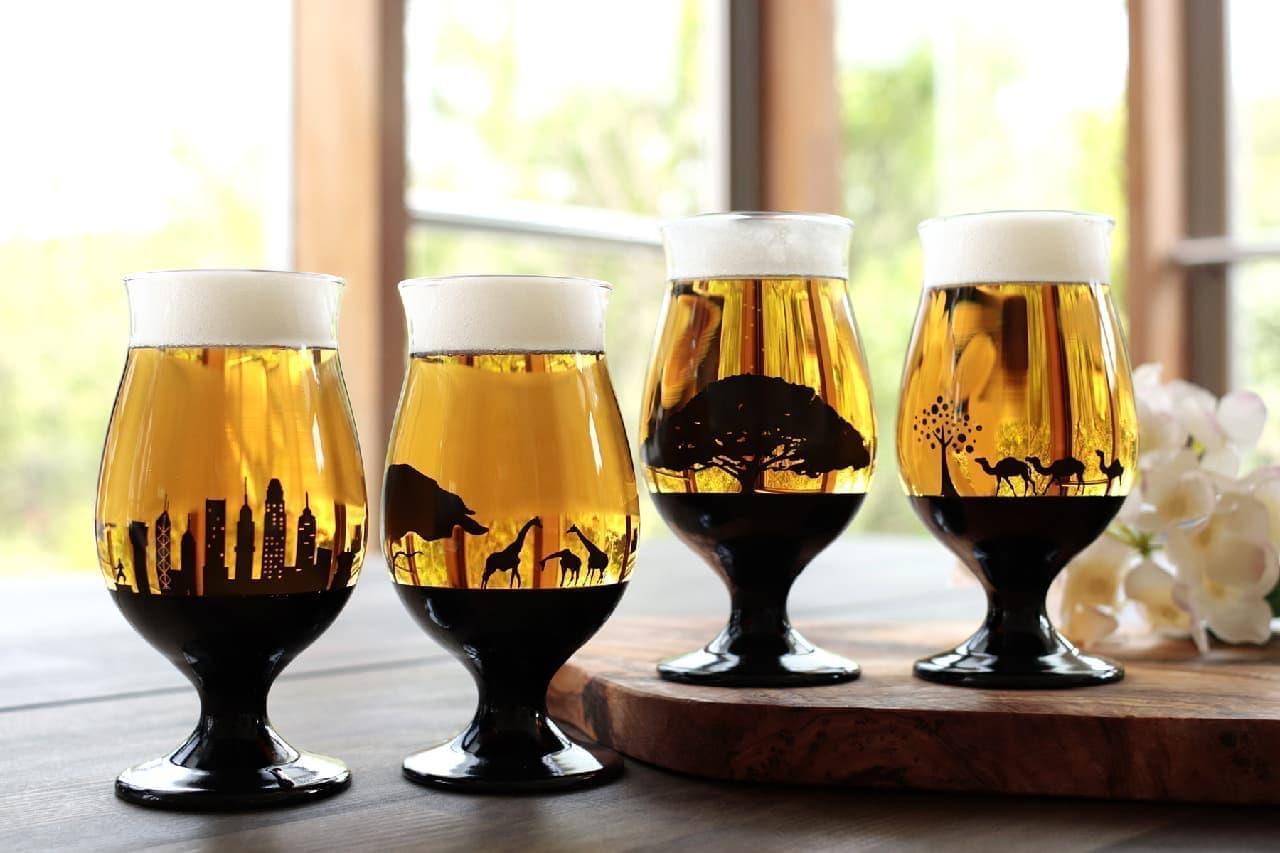 丸モ高木陶器「夕日を眺めるグラス」