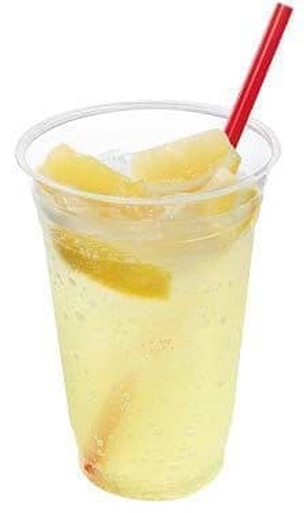 ロッテリア「メガ生しぼりレモンのC.C.レモン」