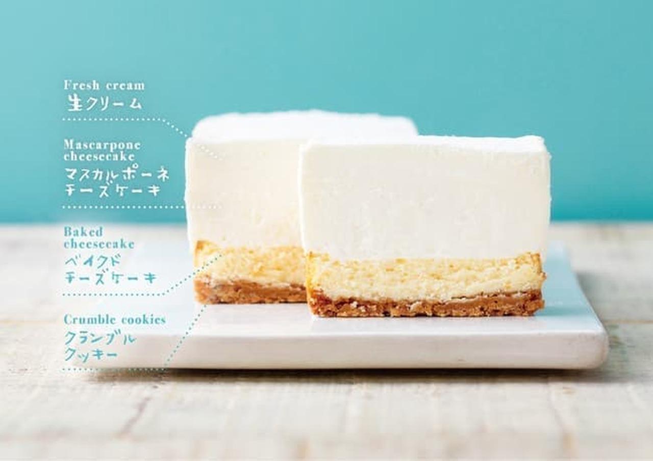 生クリーム専門店ミルク「究極の生クリームチーズケーキ」