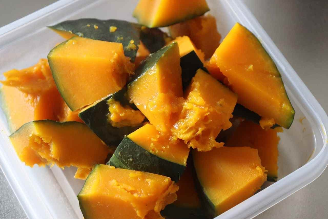 かぼちゃのカレーマヨサラダ