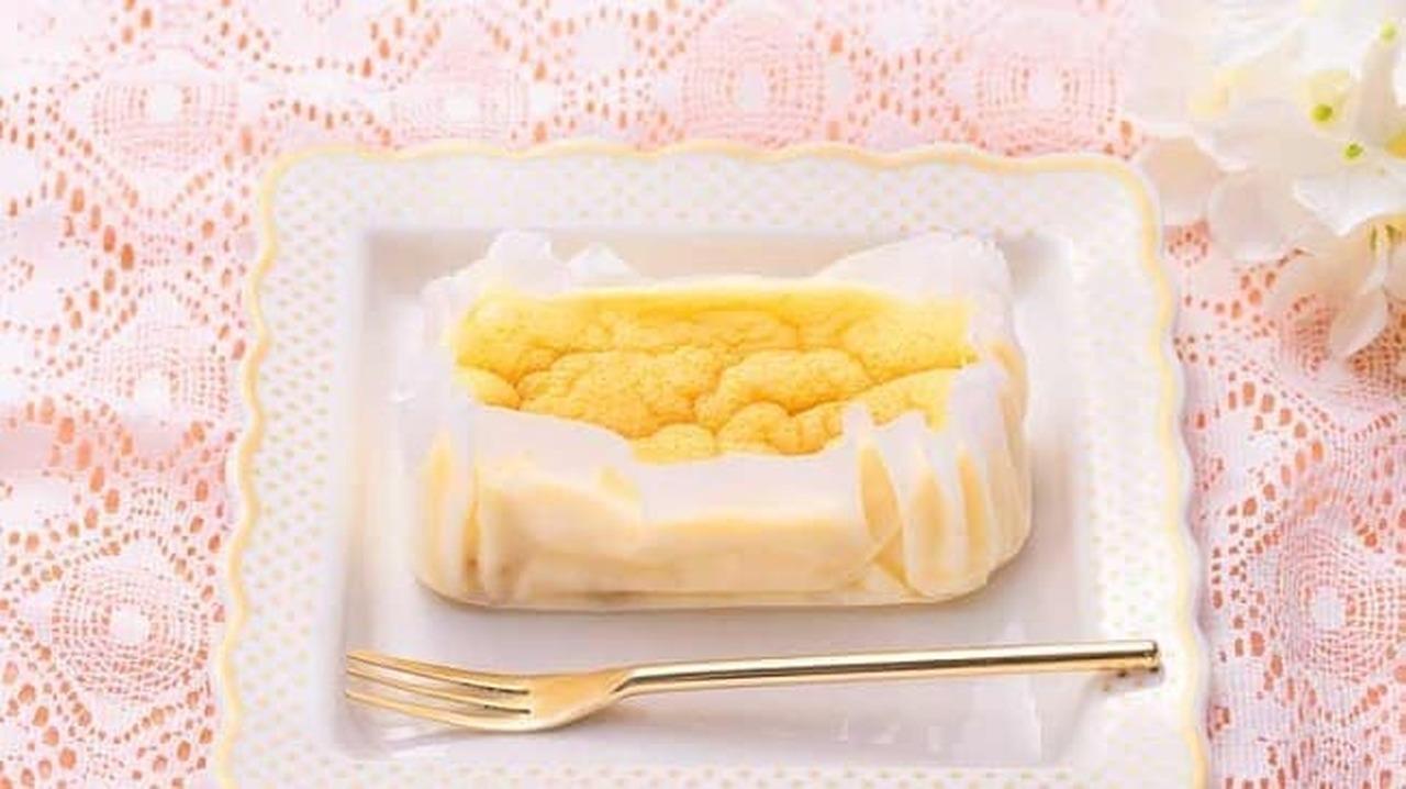 ローソンストア100「オレンジ香るスフレチーズケーキ」