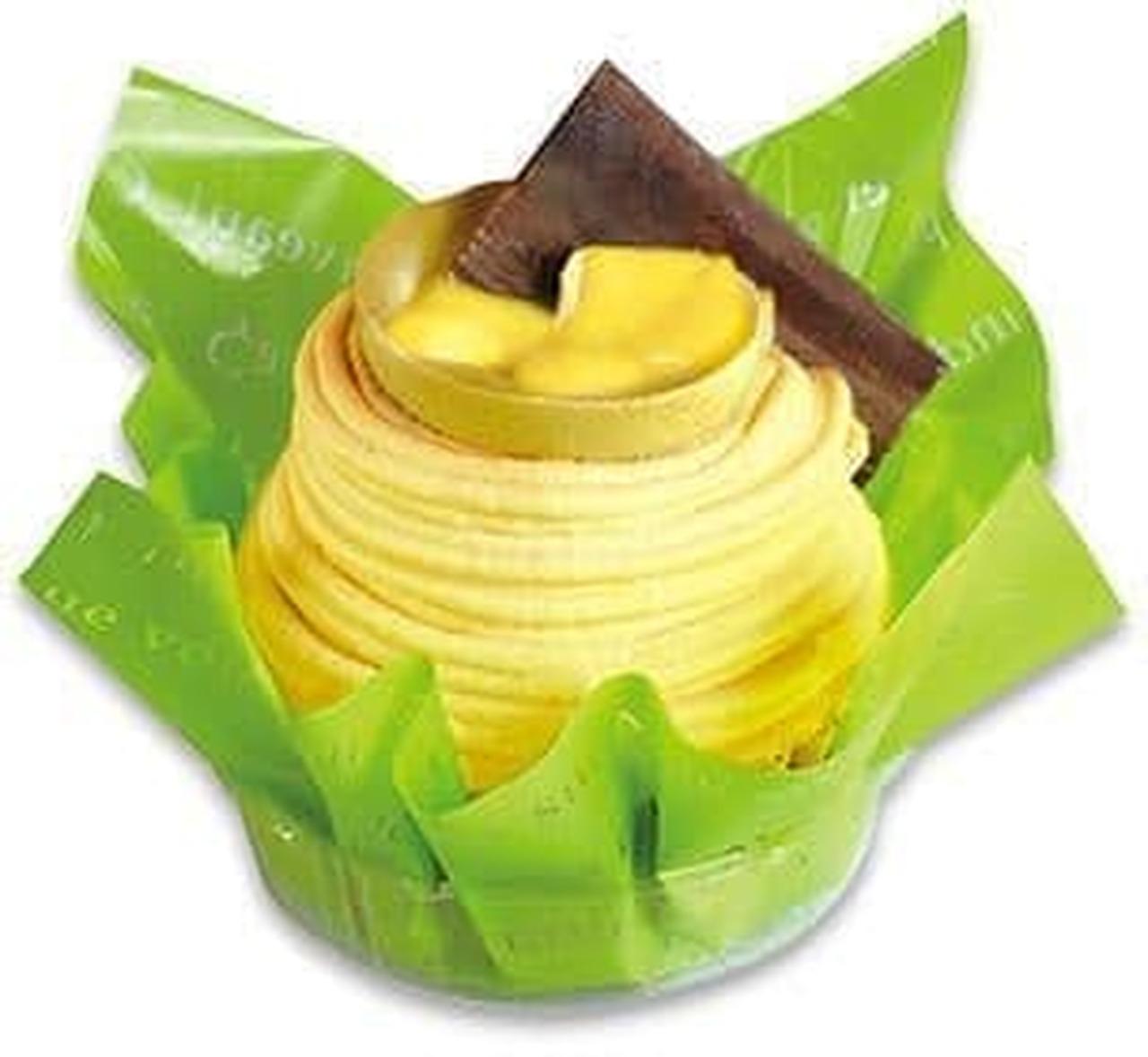 不二家洋菓子店「完熟バナナとチョコのモンブラン」