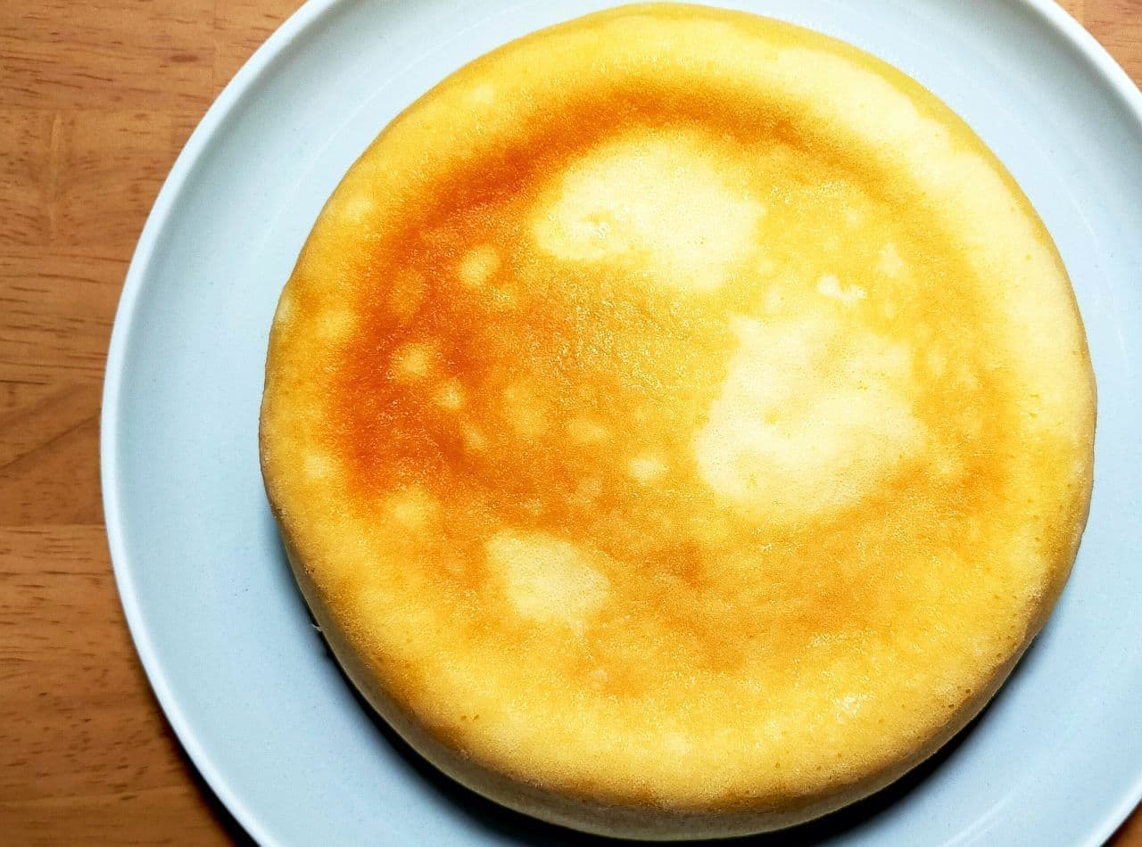 レシピ「炊飯器チーズケーキ」