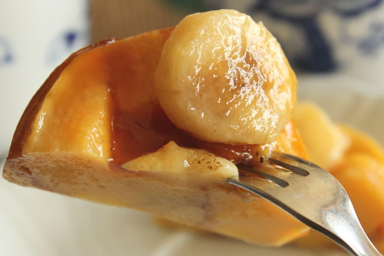 ファミマ「焦がしバナナプディングケーキ」