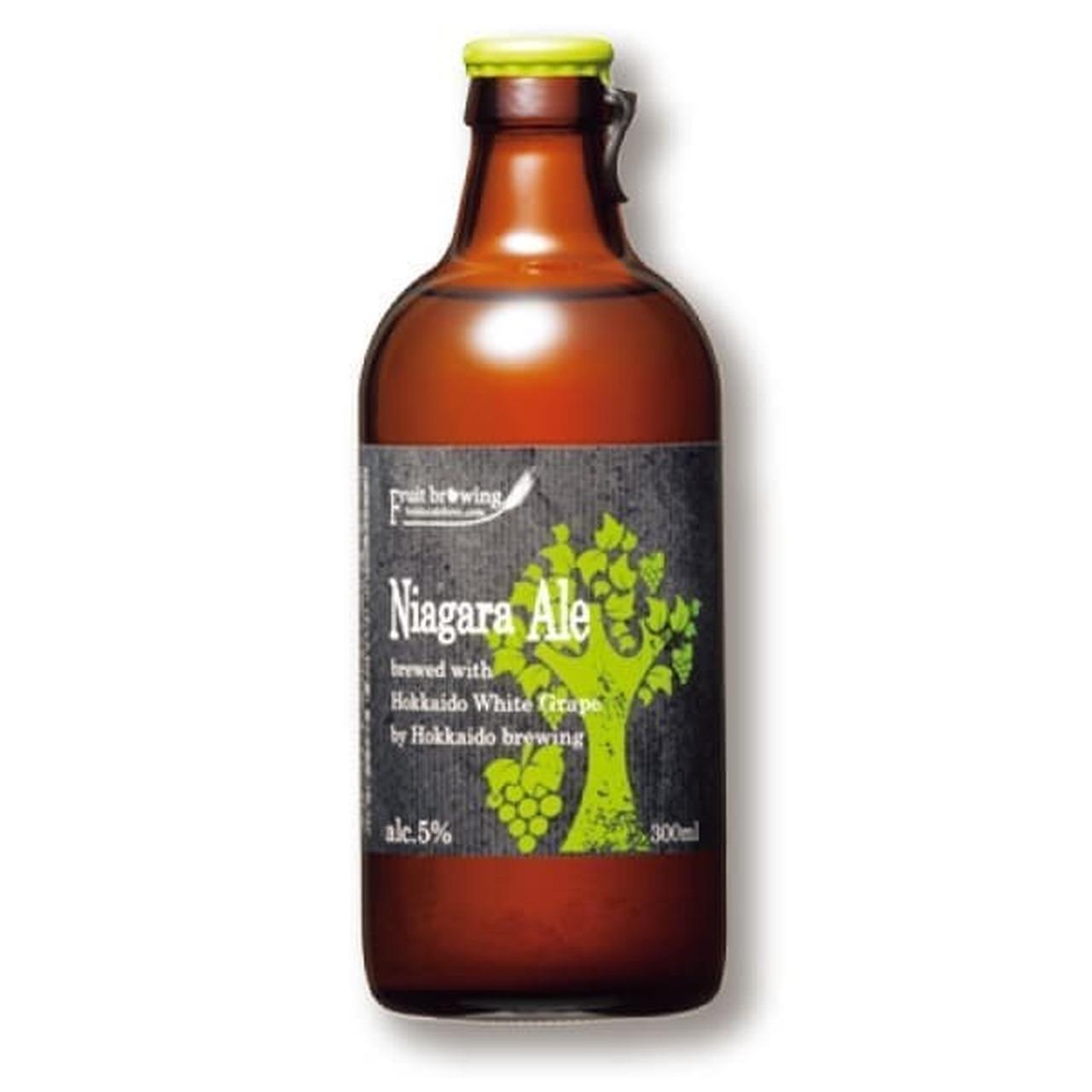 北海道麦酒醸造 フルーツブルーイン「ナイアガラエール」