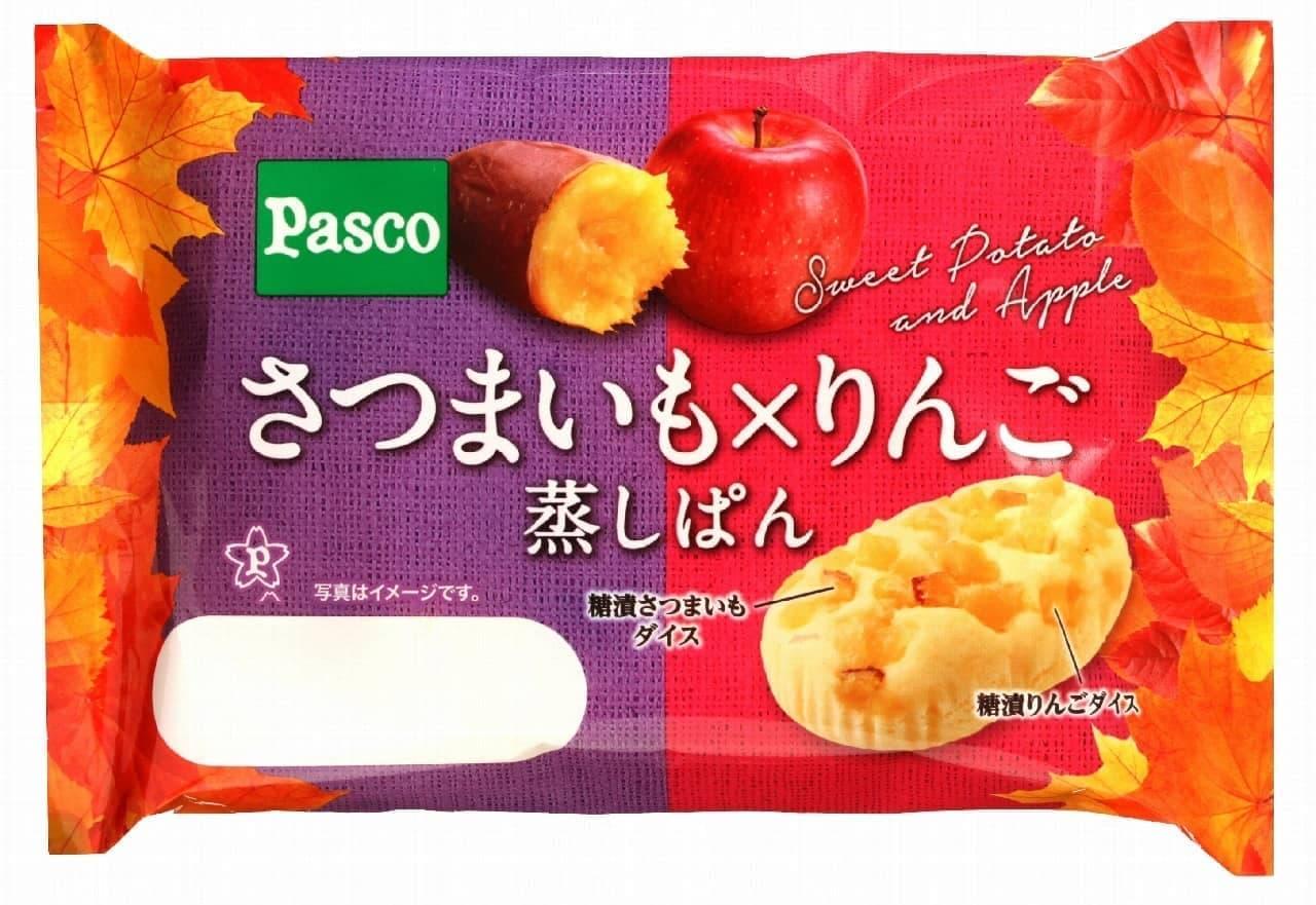 パスコ「さつまいも×りんご 蒸しぱん」