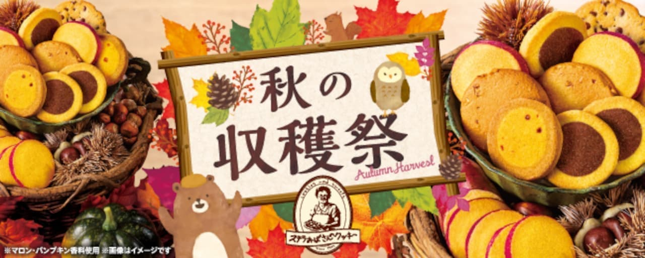 """ステラおばさんのクッキー """"2021秋の収穫祭ギフト"""" 登場"""