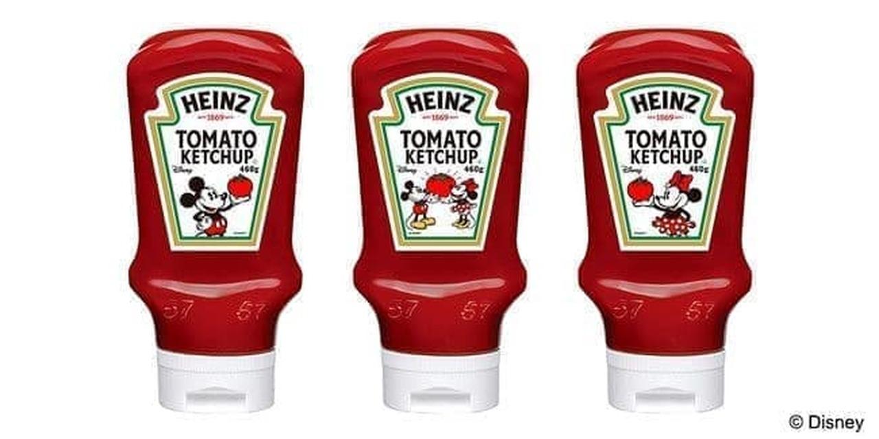 ハインツ トマトケチャップ 逆さボトル DisneyオリジナルラベルVer