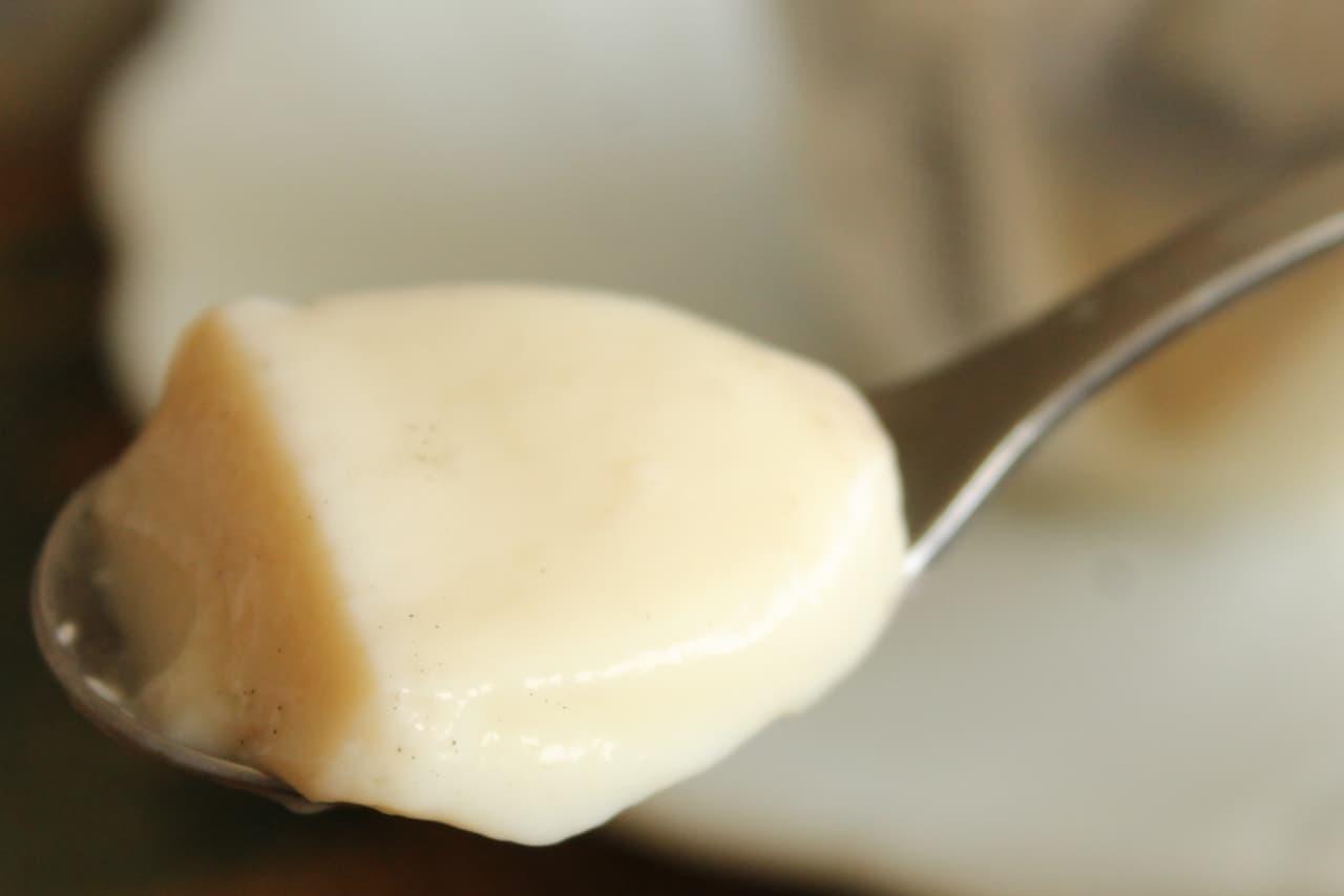 黒ごまと豆乳ブラマンジェパフェ
