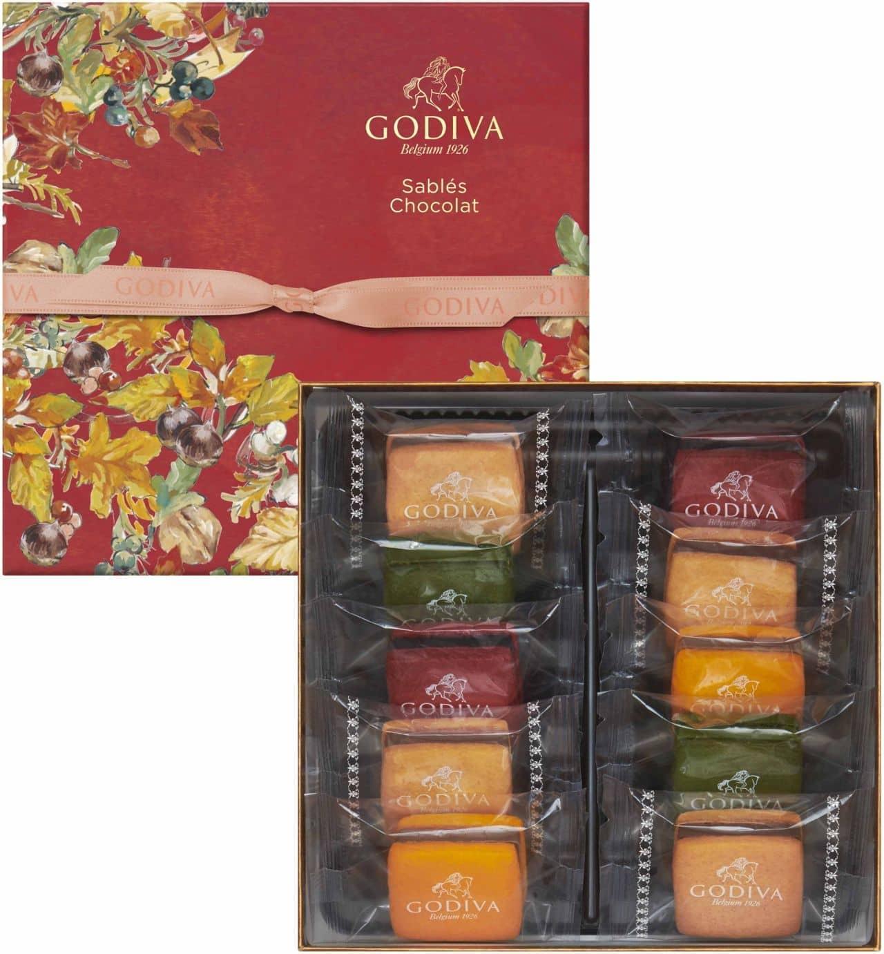 ゴディバ オータム コレクション サブレショコラ
