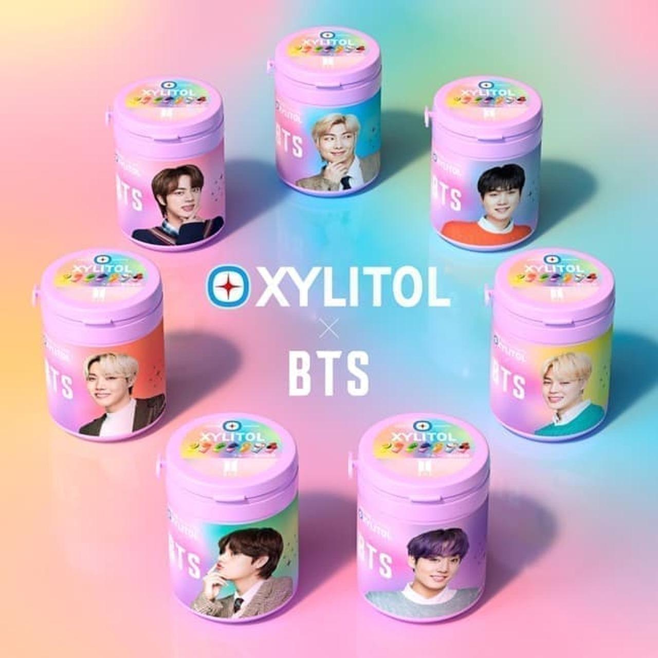 ロッテ「キシリトールガム BTS Smileボトル」