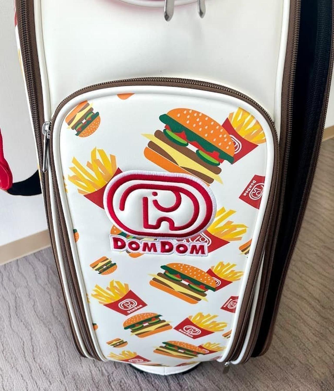 ドムドムハンバーガー オリジナルキャディバッグ