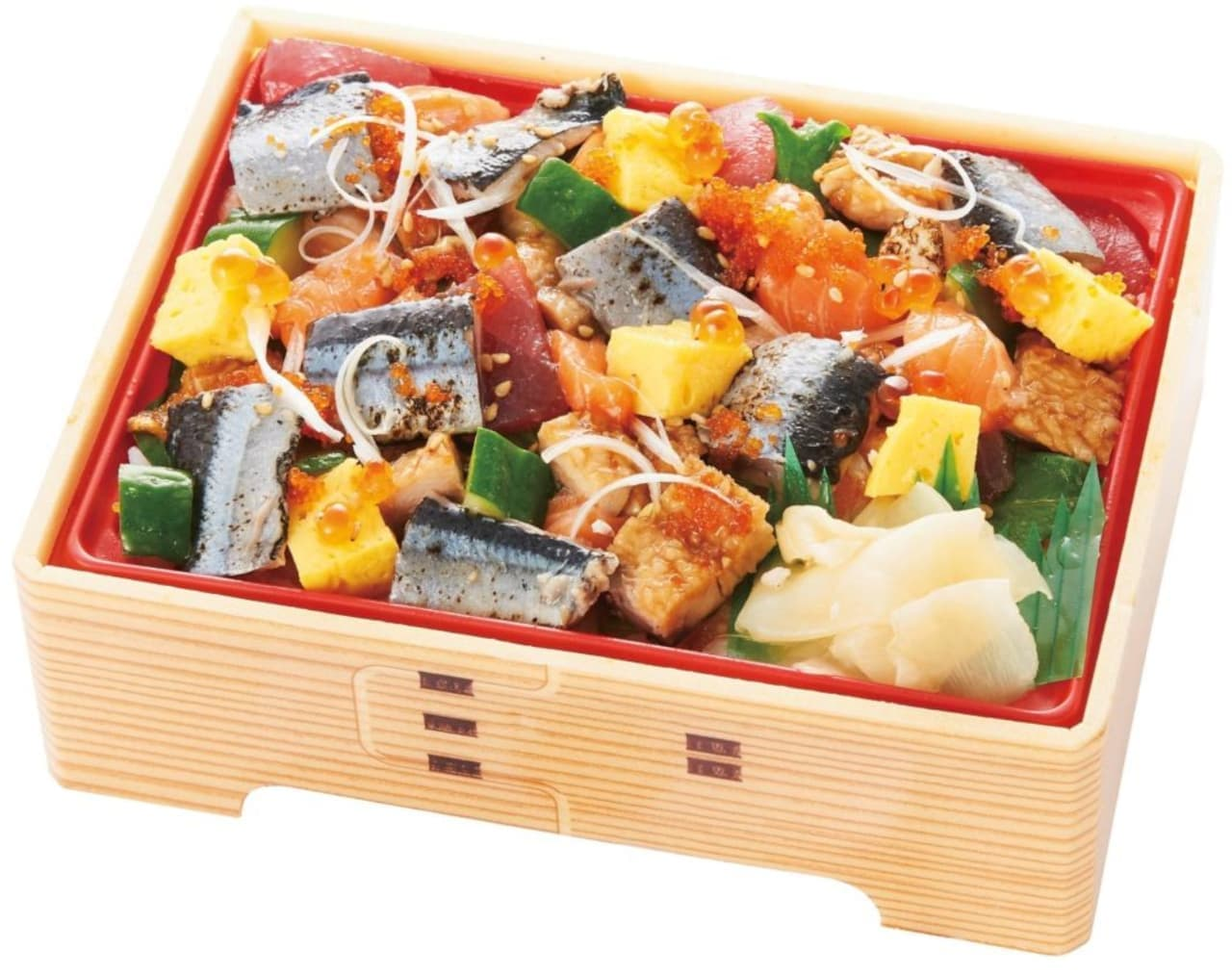サミットストア「秋薫る炙り〆さんまの海鮮バラちらし(柚子酢飯)」