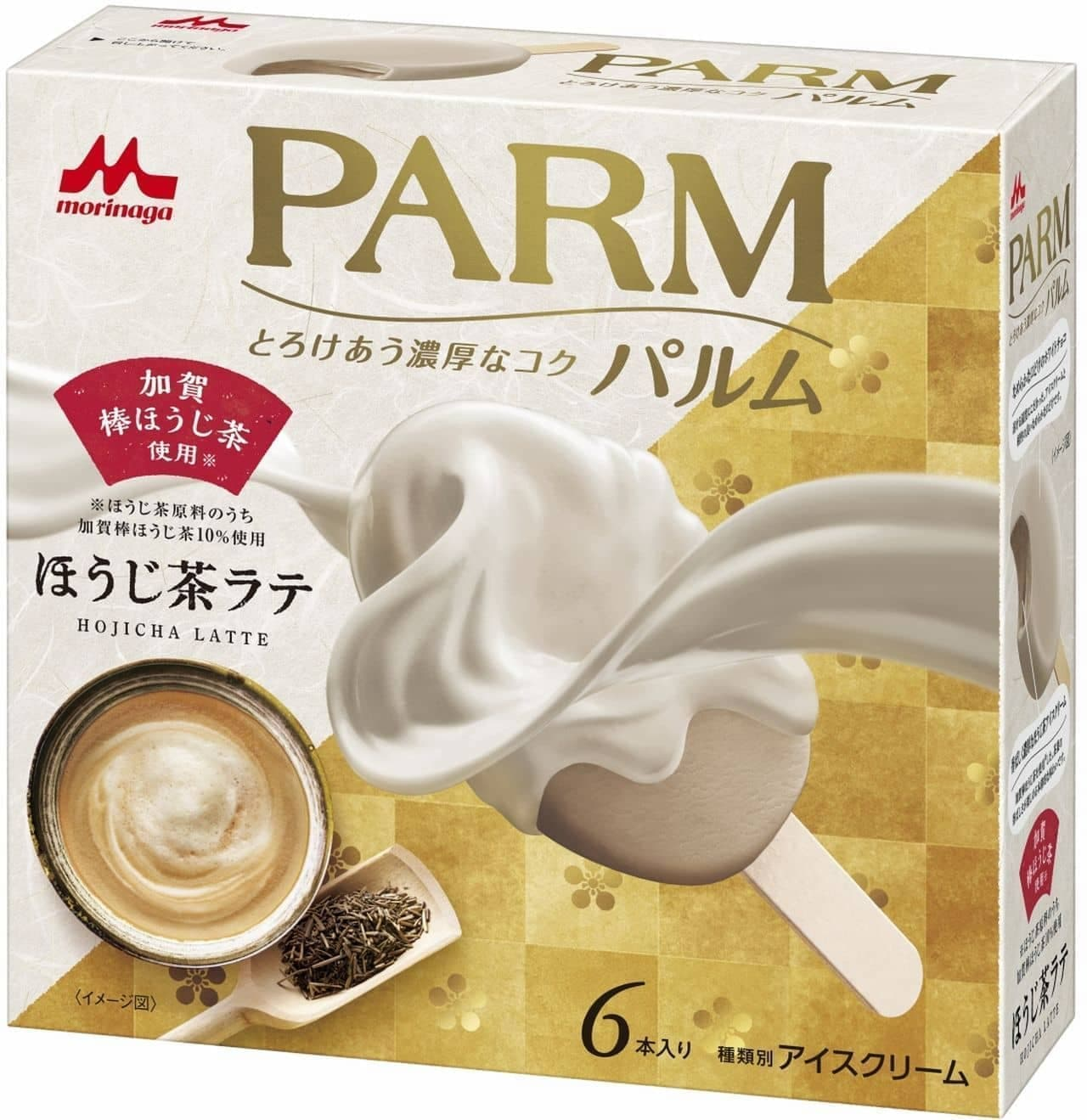 PARM(パルム)「PARM ほうじ茶ラテ(6本入り)」