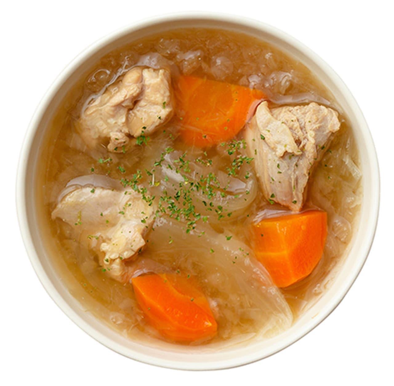 日本橋だし場「ローストオニオンとチキンのだしスープ」